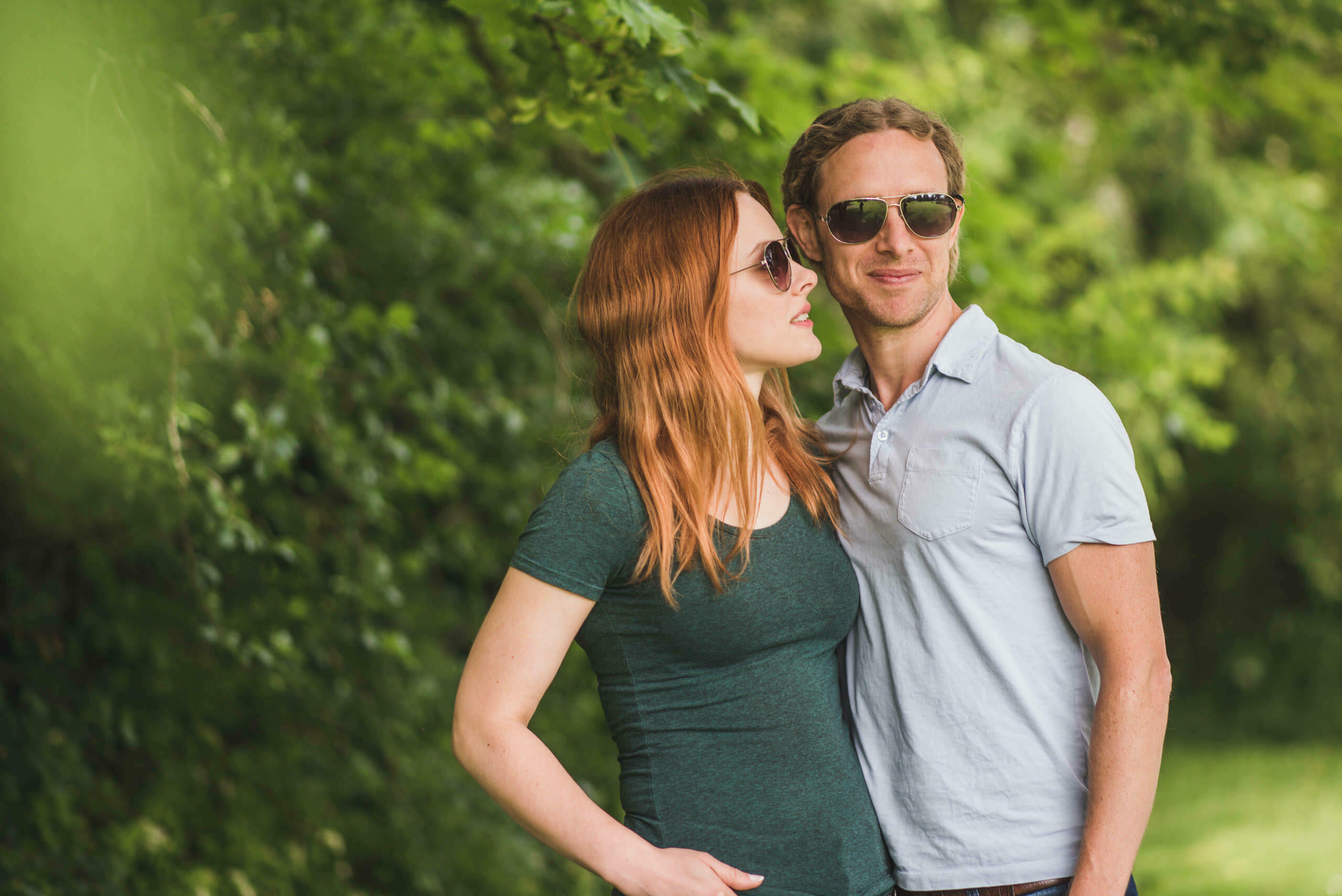 Engagement session at Lemore Manor